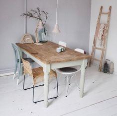 Tuto : comment repeindre une table en bois !