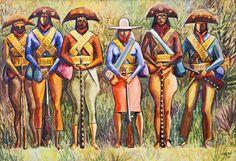 Cangaceiros, by Carybé