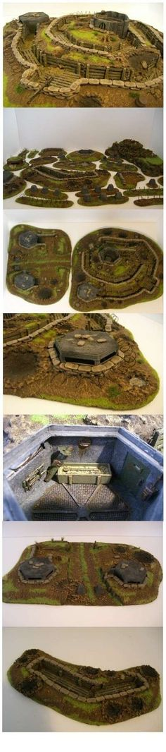 Trench terrain project