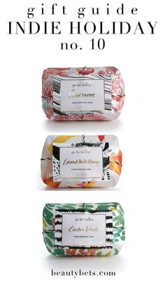 Indie Holiday: Illume Go Be Lovely Soaps #giftguide