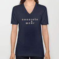 Concrete Wear Unisex V-Neck