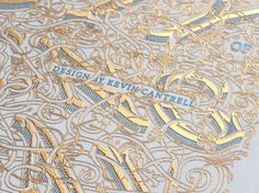 The Beauty of Engraving -  Kevin Cantrell