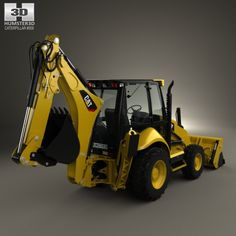 Buy Caterpillar Backhoe Loader 2014 by on The model was created on real car base. Heavy Construction Equipment, Construction Machines, Heavy Equipment, Caterpillar Equipment, Johnny Bravo, Backhoe Loader, Mining Equipment, Heavy Machinery, Cinema 4d