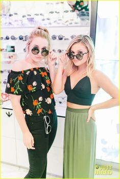Olivia Holt & Harley Quinn Smith Step Out For Perverse Sunglasses Store Opening: Photo Olivia Holt meets up with Harley Quinn Smith at the Perverse Sunglasses Store Opening in Los Angeles on Thursday night (August The two young actresses joined… Olivia Holt, Olivia Culpo, Harley Quinn Smith, Sunglasses Store, Young Actresses, Celebs, Celebrities, Female Form, Photography Poses