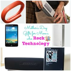 Mother's Day Gift Ideas for the Mom Who Rocks Technology - Cupcakes and Crinoline