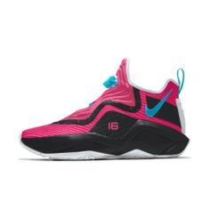 LeBron Soldier 14 By You Custom Basketball Shoe Nike Id Shoes, Sneakers Nike, Custom Basketball, Basketball Shoes, Your Shoes, Heels, Fashion, Nike Tennis, Basketball Sneakers
