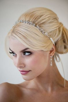 Bridal Ribbon Headband