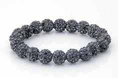WSU Cougars Shamballa Beaded Bracelet