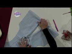 Liliana Villordo - Bienvenidas TV en HD - Explica la costura de un saco en polar. - YouTube