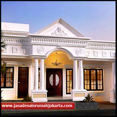 House Outer Design, House Fence Design, Village House Design, Kerala House Design, Bungalow House Design, Classic House Exterior, Classic House Design, Architecture Building Design, Home Building Design