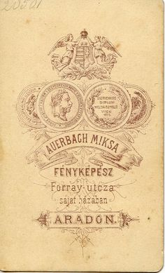 1870s Auerbach reverse | Flickr - Photo Sharing!