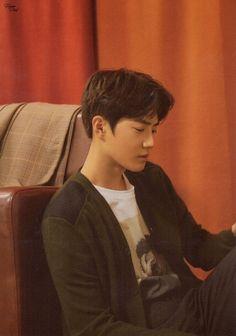 #EXO Universe Album SCANS - #Junmyeon (#Suho) <3