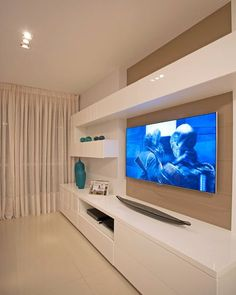 53 Ideas for home theater planejado escandinavo – Rahul Jain – Hometheaters Home Living Room, Living Room Furniture, Living Room Decor, Living Room Cabinets, Modern Tv Wall Units, Modern Tv Cabinet, Living Room Tv Unit Designs, Muebles Living, Tv Wall Decor