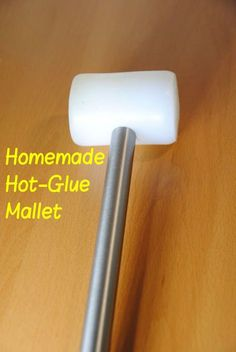Picture of Make Your Own Hot-Glue Mallet! (Rubber Hammer) | DIY Woodworking Tools #4 #woodworkingtools