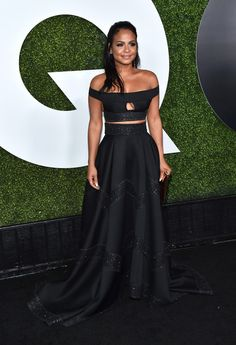 Christina Milian Photos - Singer/songwriter Christina Milian attends the GQ Anniversary Men Of The Year Party at Chateau Marmont on December 2015 in Los Angeles, California. - GQ Anniversary Men of the Year Party - Arrivals Christina Milian, Gq Men, Beautiful Gowns, Beautiful Women, Sexy Skirt, Red Carpet Fashion, Ball Gowns, Celebrity Style, Celebs