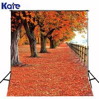 300Cm*200Cm(About 10Ft*6.5Ft)T Background Maple Leaves Everywhere Photography Backdropsthick Cloth Photography Backdrop 3223 Lk