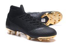 Nike Mercurial Superfly VI Elite FG Botas de Futbol - Negro Oro bf85c51cc9ecb
