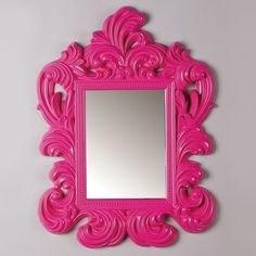 I pinned this Caroline Mirror in Magenta from the Deschamps Design event at Joss & Main!
