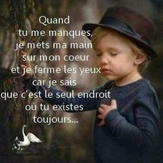 Tu me manques. Tu Me Manques, Best Quotes, Love Quotes, Inspirational Quotes, The Words, Positive Attitude, Positive Quotes, Quote Citation, French Quotes