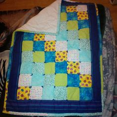 Quilt made for friend Melissa U., baby quilt