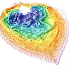 Crochet   Pattern - Een prachtig patroon voor een sjaal met de Whirl Scheepjes wol.
