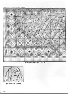 Winter Fairie - 4/5 Solo Patrones Punto Cruz (pág. 404) | Aprender manualidades es facilisimo.com