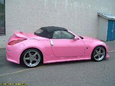 grey and pink nissan 350 convertible | TUNING FEVER :: 2004 Pink Nissan 350Z Roadster Z33 - Uploaded by ...