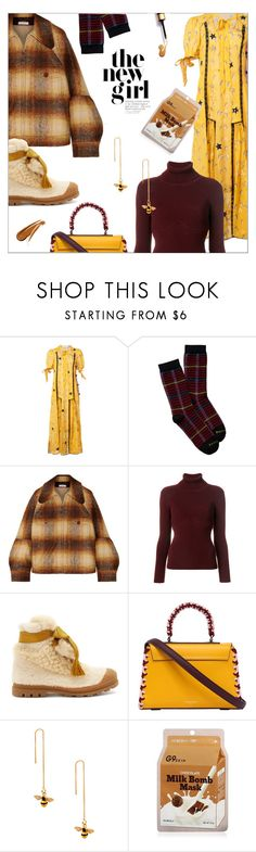 """Plaid and stars"" by laste-co ❤ liked on Polyvore featuring Coach, Pendleton, Chloé, Balenciaga, Emilio Pucci and Eye Candy"