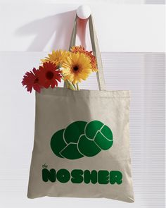 Nosher Tote Bags