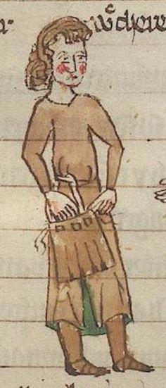 Welscher Gast (Erl) Thomasin <Circlaere> Heilsbronn (?), 14. Jh. B7 Universitätsbibliothek Erlangen-Nürnberg  Folio 12r