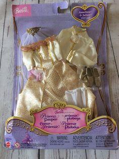 Barbie Princess And The Pauper Anneliese & Julian Outfits BNIB | 19.99+3.95 Doll Clothes Barbie, Barbie Dolls, Princess And The Pauper, Barbie Princess, Doll Outfits, Fashion, Baby Dolls, Princesses, Moda
