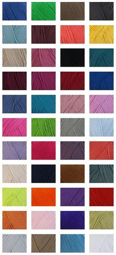 Rico Design Essentials Cotton DK 50gm - 130m $4.59 Deramores