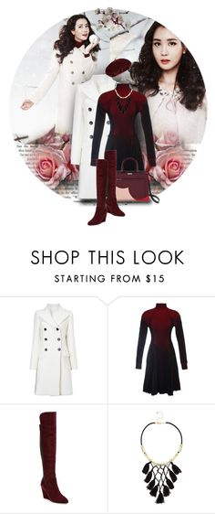 """""""She Walks In Beauty"""" by terrelyn-thomas-no-tags ❤ liked on Polyvore featuring Étoile Isabel Marant, Marco de Vincenzo, Charles by Charles David, Accessorize and wintercuteness"""