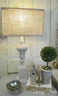Vintage Finds: Lamp Revamp