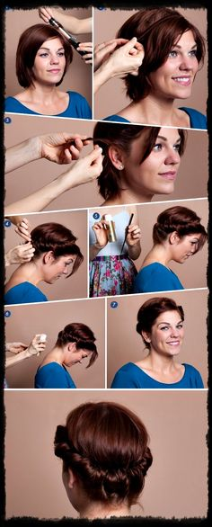 Create+a+faux+updo+for+short+hair+using+a+1-inch+curling+iron,+a+no-slip+headband+that+matches+your+haircolor,+a+fine-tooth+comb,+and+hairspray..jpg 600×1,492 pixels