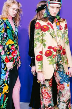 Gucci | backstage Milan spring 2017 (for rtw fall 2017)