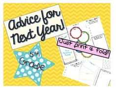 Want to see how your students feel this past year has gone? Want to know what advice they would give to the students entering your class next year? This End of the Year brochure is a great way to end the school year! Your current students will create these brochures for your new students. They'll be filled with a sneak peek into new curriculum, advice, and wisdom your new students will love!