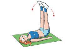 esercizi per interno coscia per tonificarti – Melarossa Pilates Workout, Cardio, Yoga Fitness, Health Fitness, Yoga For Stress Relief, Coaching Volleyball, Inner Thigh, Influenza, Total Body