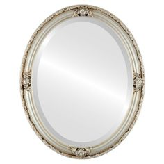 Oval Beveled Wall Mirror for Home Decor  Jefferson Style  Silver  22x32 outside dimensions * You can get additional details at the image link. (This is an affiliate link and I receive a commission for the sales)