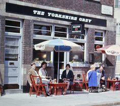 The Yorkshire Grey pub in Maple Street in Camden. 1962.