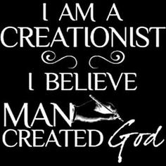 #auspol Not only did man create god, but thousands of different ones as well.