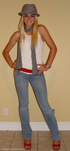 Katelyn Tarver - Photoshoot in Jeans & Tank Top
