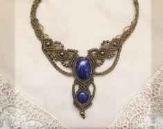 Faery pendant. chrysocolla pendant. Monstone от AbstractikaCrafts