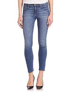 Joe's Icon Raw-Hem Skinny Jeans - Roamie - Size 29 (6-8)