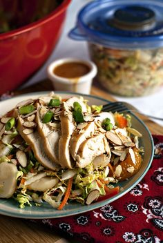Chinese Chicken Salad | heatherlikesfood.com