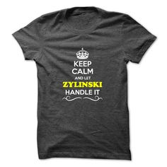 [Best t shirt names] Keep Calm and Let ZYLINSKI Handle it  Best Shirt design  Hey if you are ZYLINSKI then this shirt is for you. Let others just keep calm while you are handling it. It can be a great gift too.  Tshirt Guys Lady Hodie  SHARE and Get Discount Today Order now before we SELL OUT  Camping agent handle it calm and carry on smiling t shirt calm and let zylinski handle itacz keep calm and let garbacz handle italm garayeva