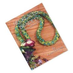 "Book, ""Necklaces Braided on the Kumihimo Disk"" by Karen DeSousa. Sold individually. - Fire Mountain Gems and Beads"