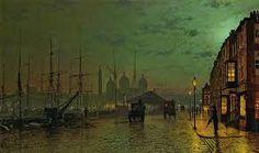 atkinson grimshaw, Dock, Kingston upon Hull