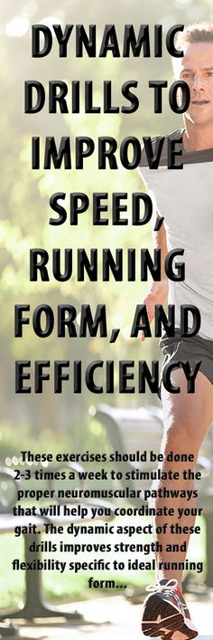 .This is how you can efficiently improve form and speed. #running #runningtips #runningadvice #runningform