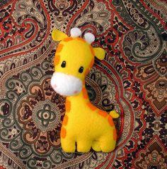 Giraffe Plush Feltie